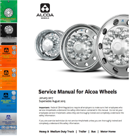 Image of wheel service manual