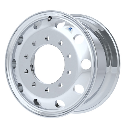 "22.5"" x 10.5"" 80360x Hub Bore Groove by Alcoa Wheels"