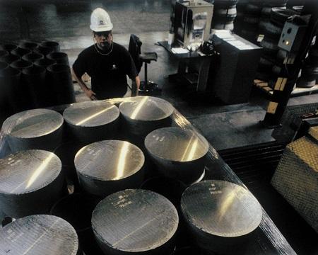 Forging process step 1