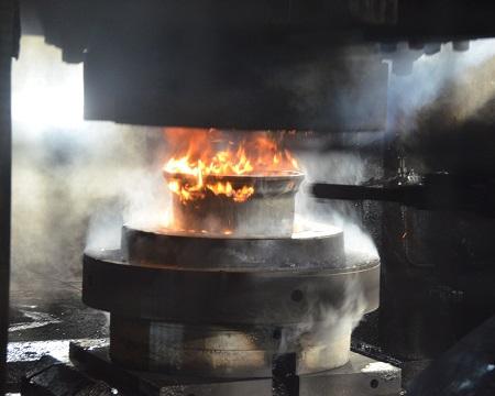 Forging process step 2