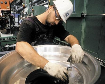Forging process step 3