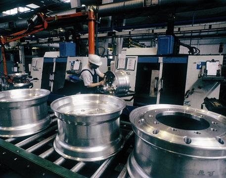 Forging process step 4