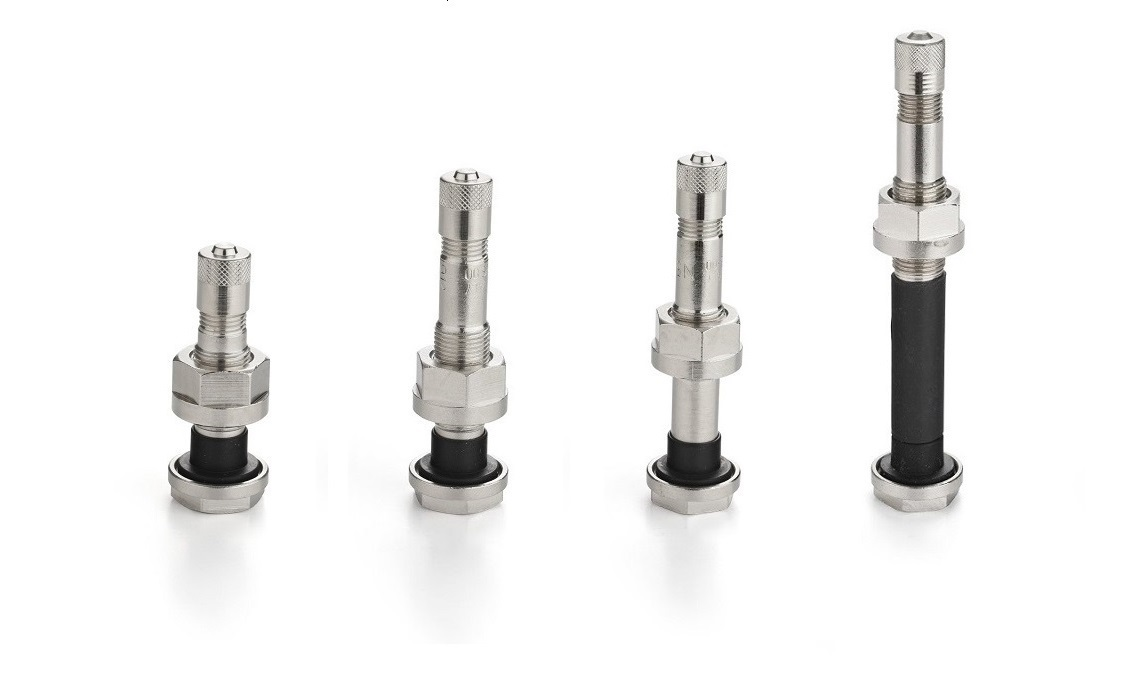 straight nickel plated valves