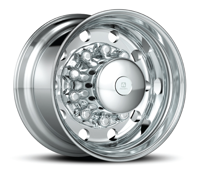 "First 14"" wide base forged aluminum wheel introduced."