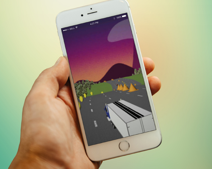 Alcoa Wheels Truck Run game app launched.