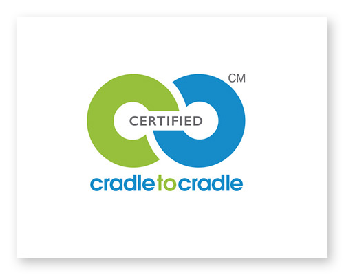 Cradle to Cradle CertifiedCM Silver Level.